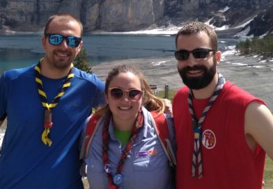 Scouts de Madrid en la Spanish Work Party!