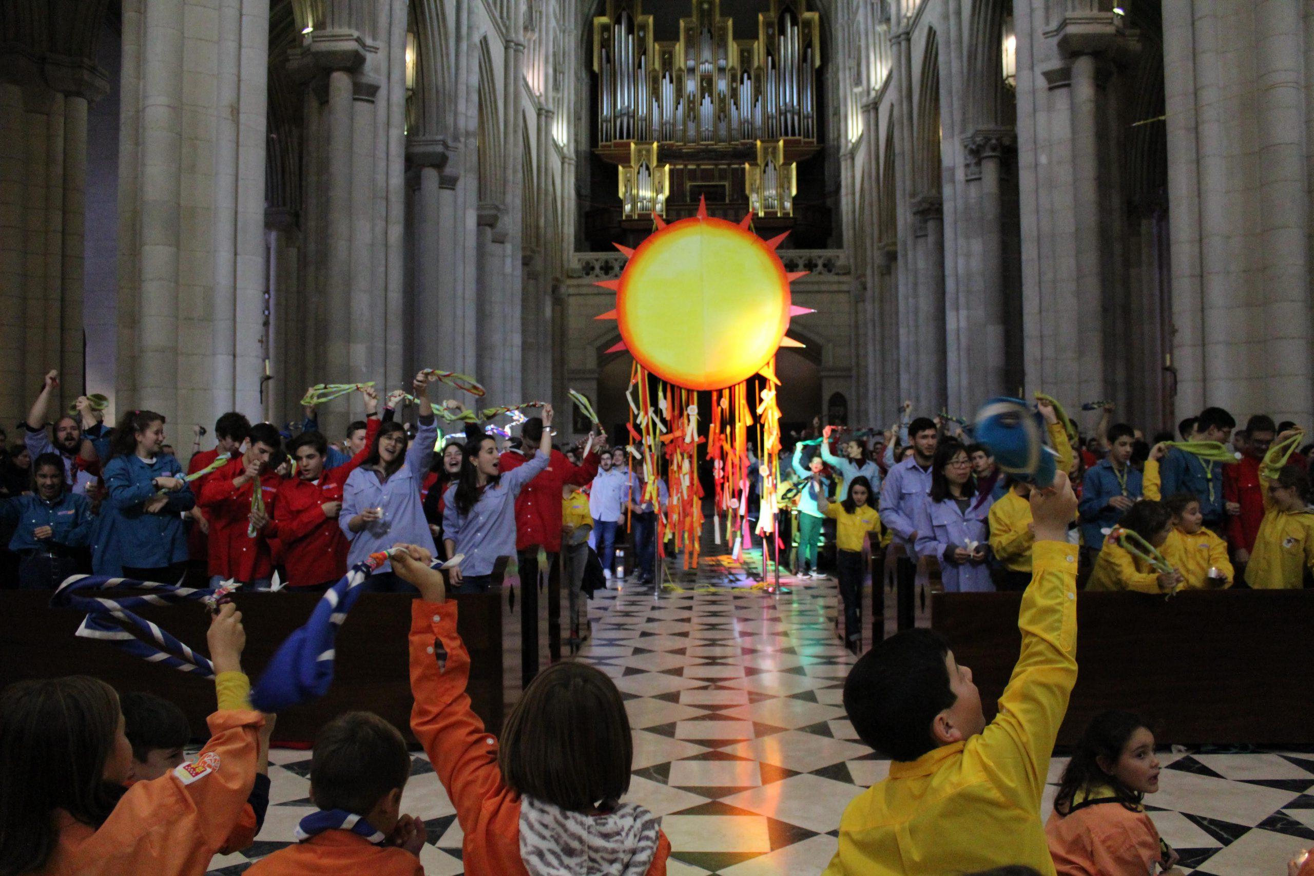La Luz de la Paz de Belén llega a Madrid