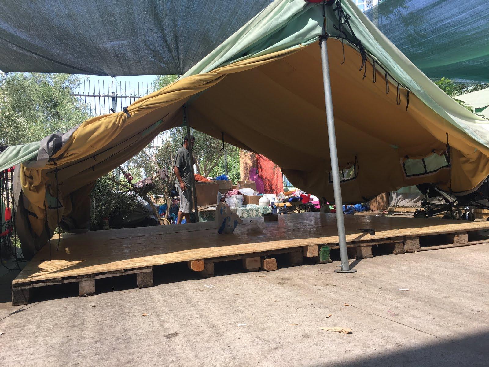 Voluntarios para campamento con refugiados en Grecia