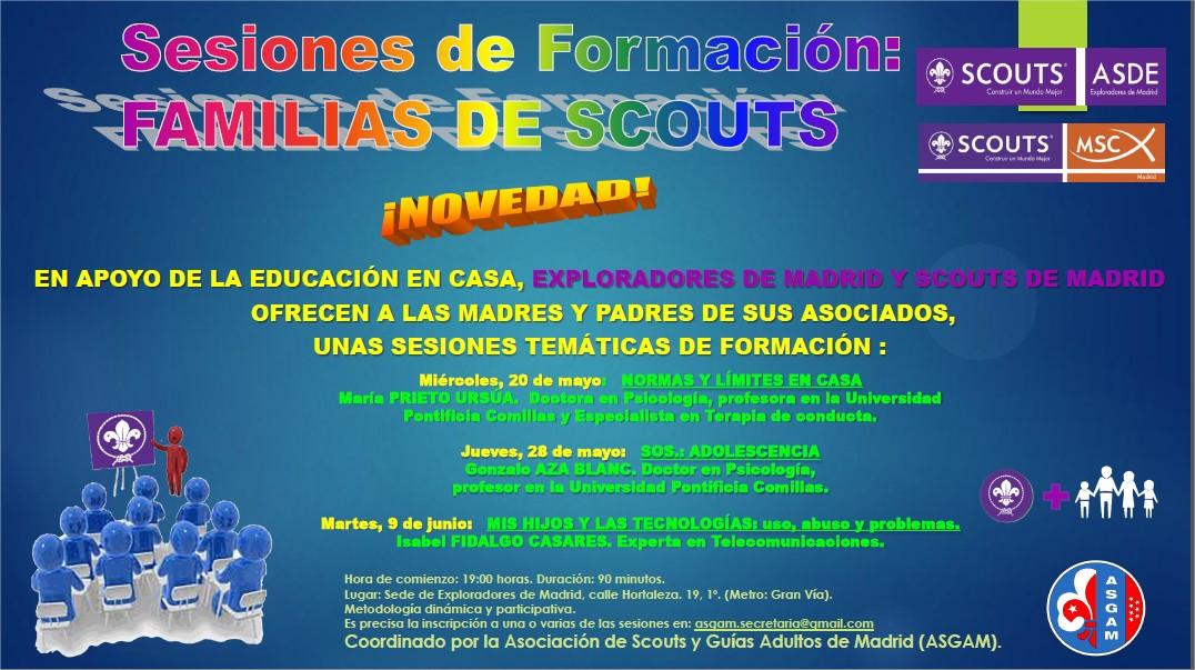Formación familiares Scouts