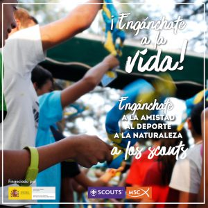 ¡Engánchate a los Scouts!